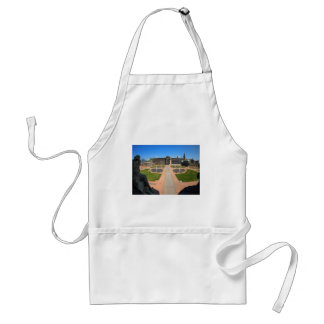Dresden, Zwinger wide angle view Adult Apron