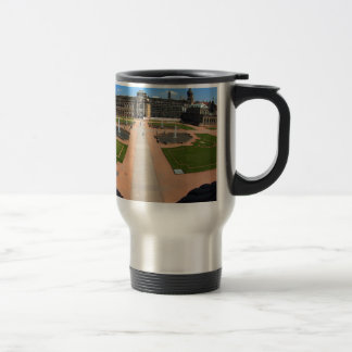 Dresden, Zwinger wide angle view Travel Mug