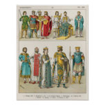 Dress at the Byzantine Court Print