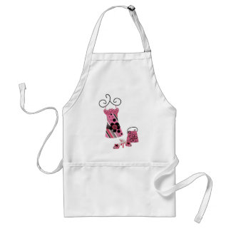 DRess Bag and Shoes in Pink Adult Apron