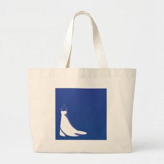 Dress: Beautify blue wedding Large Tote Bag