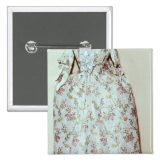 Dress belonging to the wife of Carl Linnaeus Button