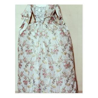 Dress belonging to the wife of Carl Linnaeus Postcard