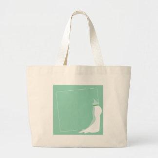 Dress: Bonny green wedding pregnant Large Tote Bag