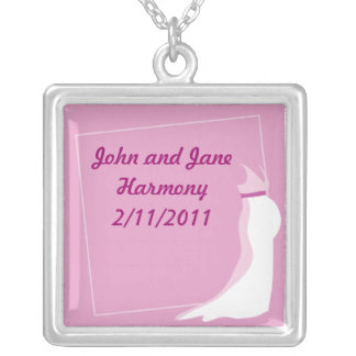 Dress Bonny pregnant lady marriage in pink Pendants