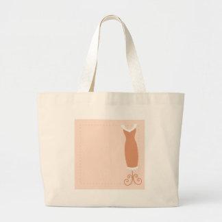 Dress: Classy tan Large Tote Bag