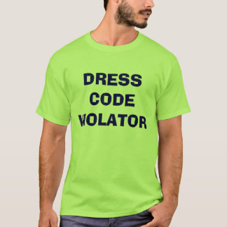 DRESS CODE VIOLATOR, school,