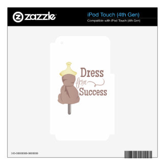 Dress For Success Decal For iPod Touch 4G