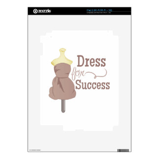 Dress For Success Decals For iPad 2