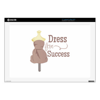 Dress For Success Decals For Laptops