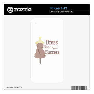 Dress For Success iPhone 4S Decal