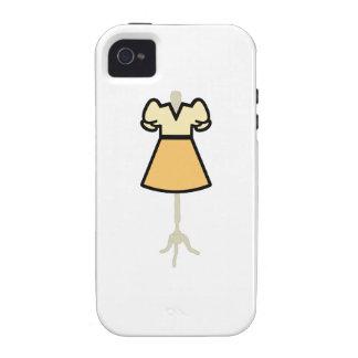 DRESS FORM APPLIQUE iPhone 4 CASES
