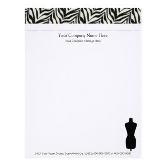 Dress Form Company Letterhead