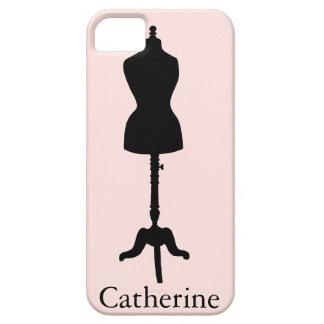 Dress Form Silhouette II iPhone 5 Case