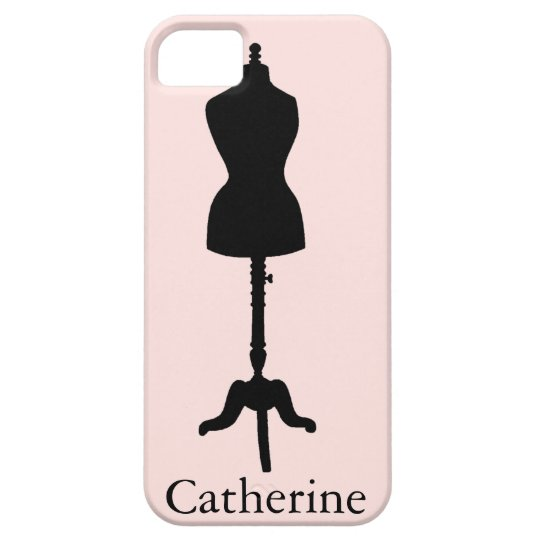 Dress Form Silhouette II iPhone SE/5/5s Case