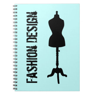 Dress Form Silhouette II Note Books