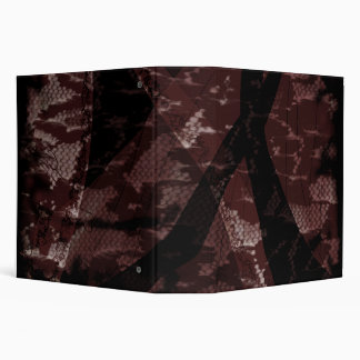 Dress Lace 3 Ring Binder