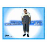 Dress like a homeschooler postcard