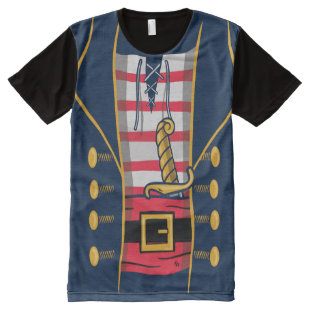 Dress Like A Pirate Clothing Funny Graphics Fun All-Over-Print T-Shirt
