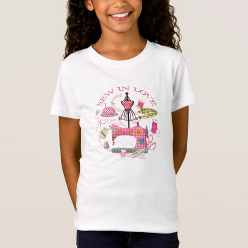 Dress Makers _ Sew in Love sewing T_shirt