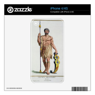 Dress of a Breton Warrior from 'Receuil des Estamp Skin For The iPhone 4
