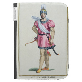 Dress of a Norman Soldier from 'Receuil des Estamp Kindle 3 Covers
