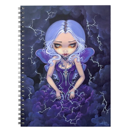 """Dress of Storms"" Notebook"