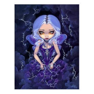 """Dress of Storms"" Postcard"