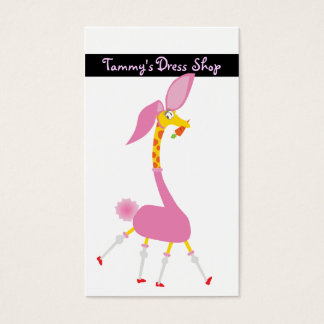 Dress Shop Business Card