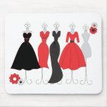 Dress Shop-Daisy Theme Mouse Pad