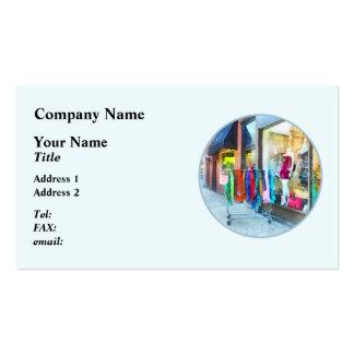 Dress Shop Hoboken NJ Business Card Template