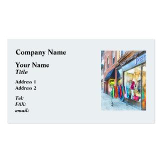 Dress Shop Hoboken NJ Business Card