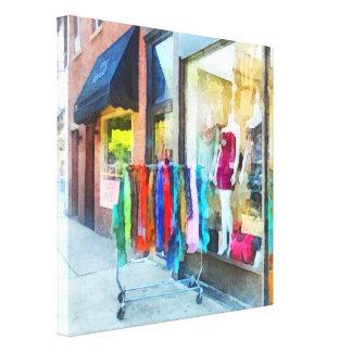Dress Shop Hoboken NJ Canvas Print