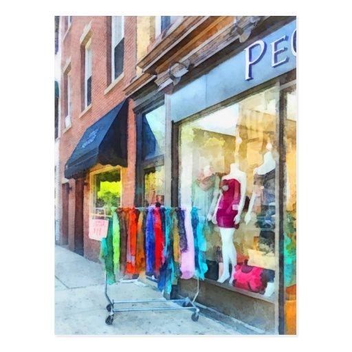 Dress Shop Hoboken NJ Post Cards