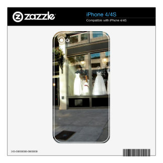 Dress Shopping Skins For The iPhone 4