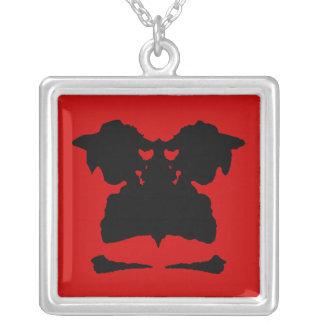 Dress Square Pendant Necklace