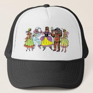Dress Up Ball Trucker Hat