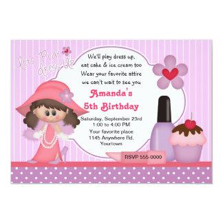Dress Up Birthday Party Invitation