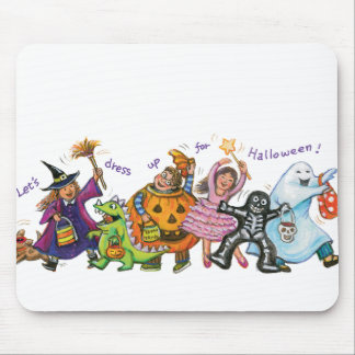 Dress Up For Halloween Mouse Pad