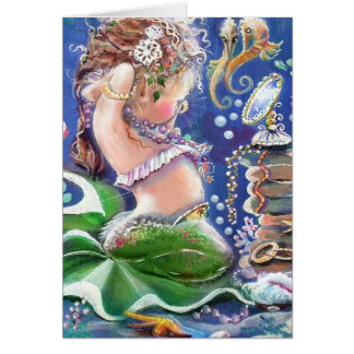 Dress-up Time Mermaid Card