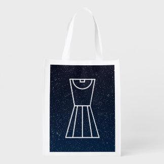 Dress Whites Icon Grocery Bag