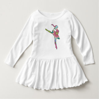 Dress with ballet dancer