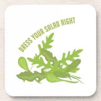 Dress Your Salad Beverage Coaster