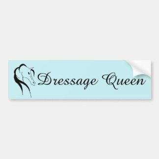 Dressage Bumper Sticker