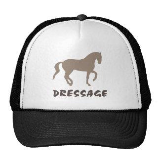 Dressage (caballo y texto del piaffe) gorros