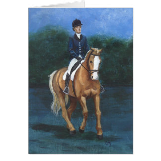 dressage greeting cards