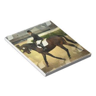Dressage Collage  Notepad