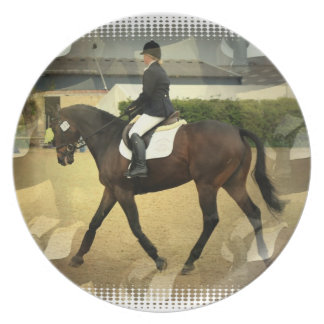 Dressage Collage  Plate