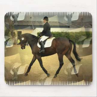Dressage Competition Mouse Pad