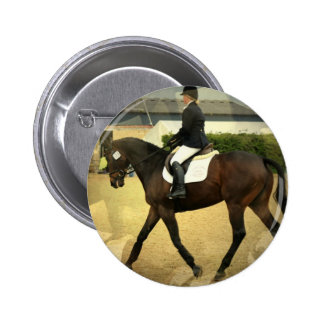 Dressage Competition Round Button
